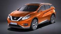 Nissan Murano 2017 VRAY