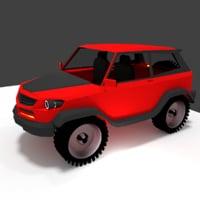 city suv 3D model