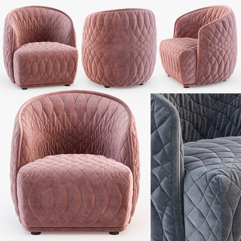 moroso redondo small armchair model