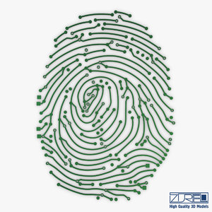 3D model electronic fingerprint v 1