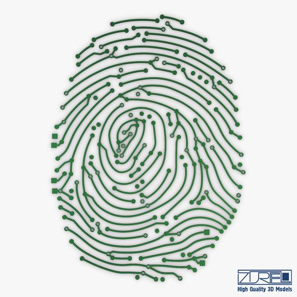 3D model electronic fingerprint v 1