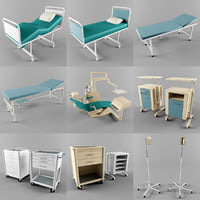 3D medical equipment collections