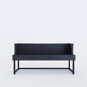 3D bruehl - bench belami