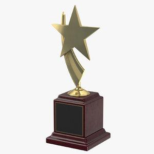 3D award plaque 03