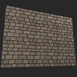3D brickwork brick