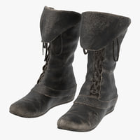 Leather Boots Worn