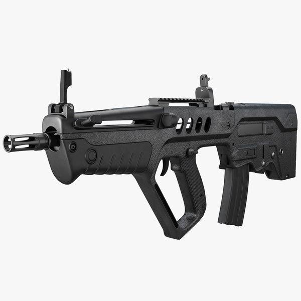 3D rifle iwi tavor tar-21