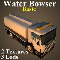 3D water basic model