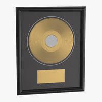 Award Plaque 02