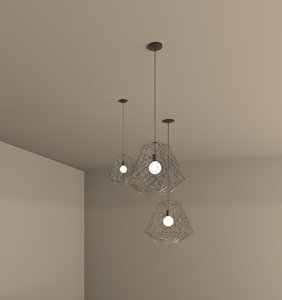 3D revit lighting fixture