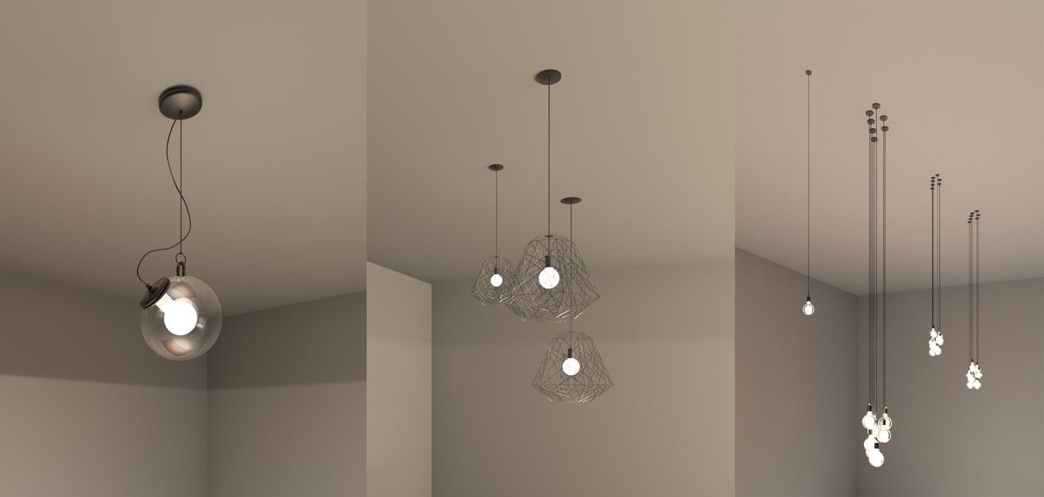 revit lighting fixture model