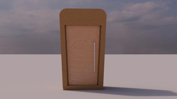 meet greet pod 3D model