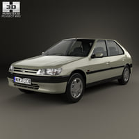 Peugeot 306 5-door hatchback 1993