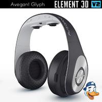 3D avegant glyph element