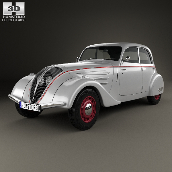 peugeot 1935 3D