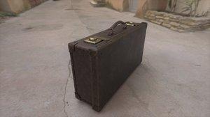 suitcase scamander s 3D model