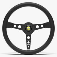 3D momo prototipo steering wheel model