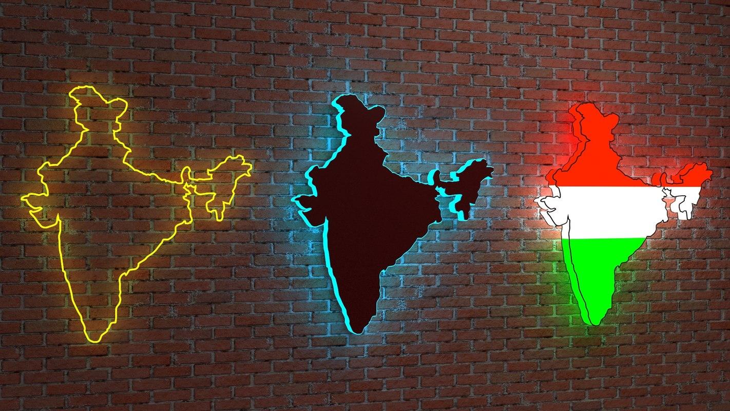 india 3D model