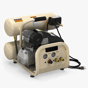 ingersoll-rand portable air compressor 3D