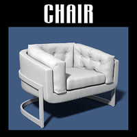 chair interiors 3D