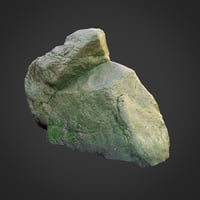 3d scanned nature stone 008