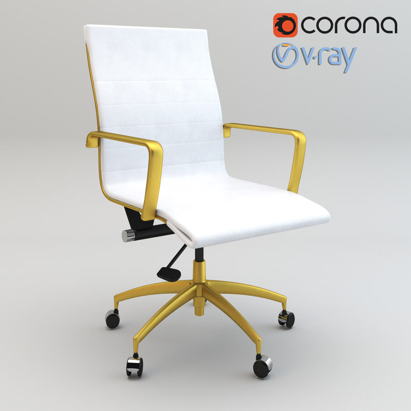 3D realistic meelano conference chair