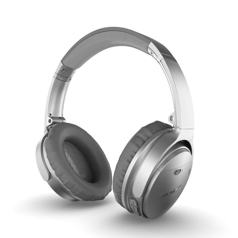 aeef832583c Bose quietcomfort 35 wireless 3D model - TurboSquid 1190308