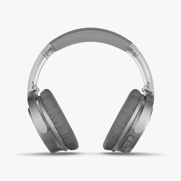 bose quietcomfort 35 wireless 3D model