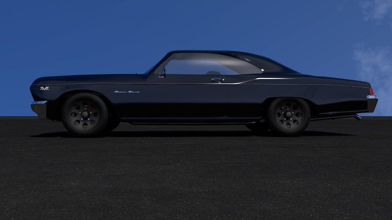 impala super sport 67 3D model