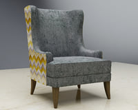 3D wing chair west