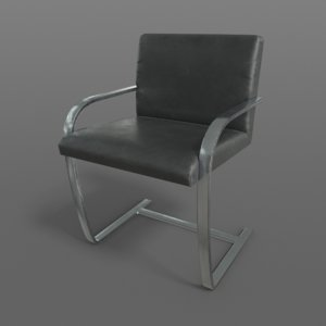 realistic brno chair - model