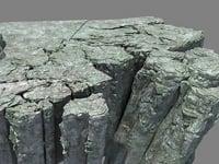 mountain stone 3D model