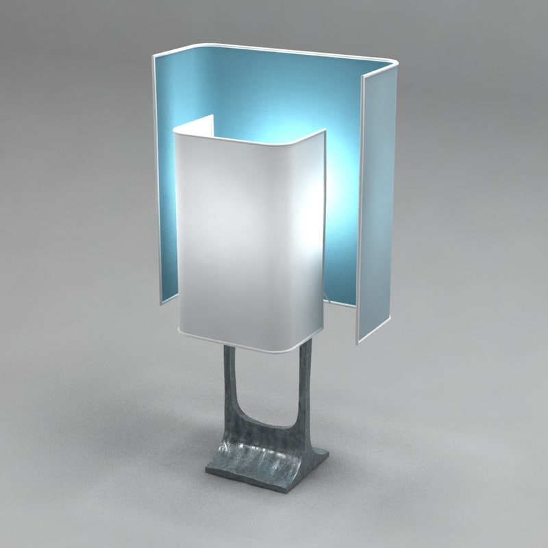 table lamp robespierre felix 3D