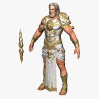 zeus character model