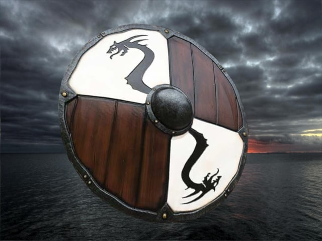 shield viking 3D model