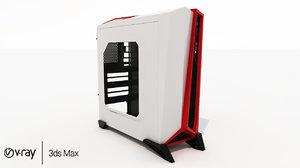 3D corsair computer case