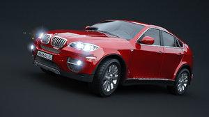 3D car x6