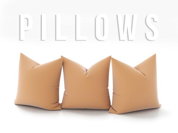 3D pillow set model