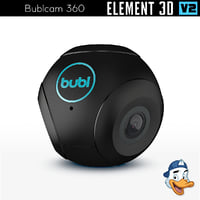 bublcam 360 element 3D model
