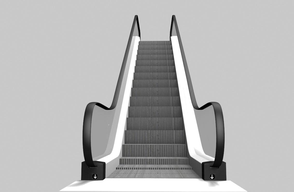escalator animated