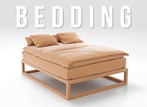 bedding set 3D model