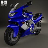 yzf600r yzf 600r 3D model