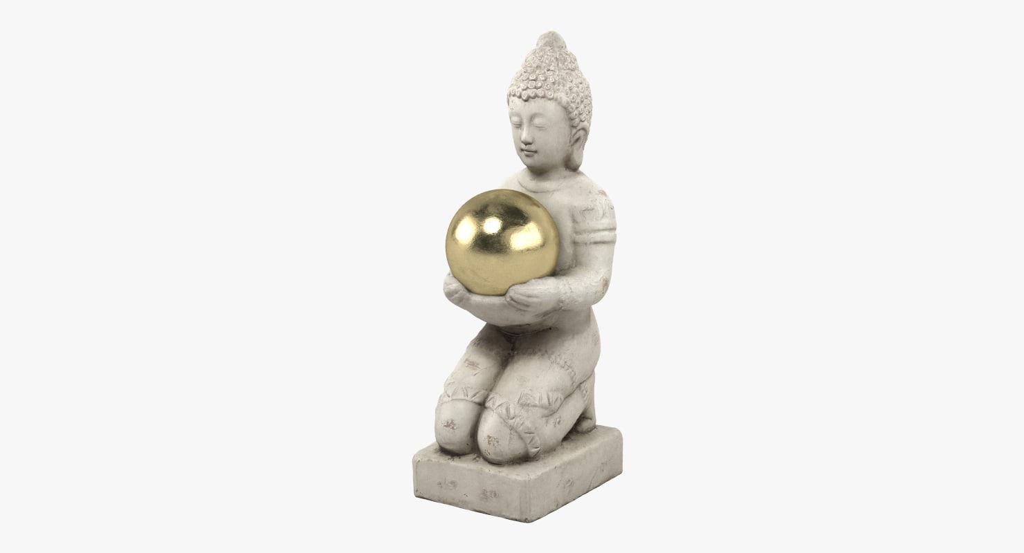 buddha statue 3D model