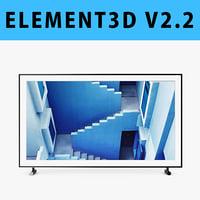 E3D - Samsung 65 Inches Class The Frame 4K UHD TV