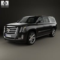 3D model cadillac platinum esv