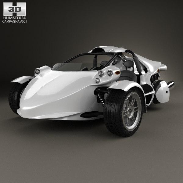campagna 16s t-rex 3D model