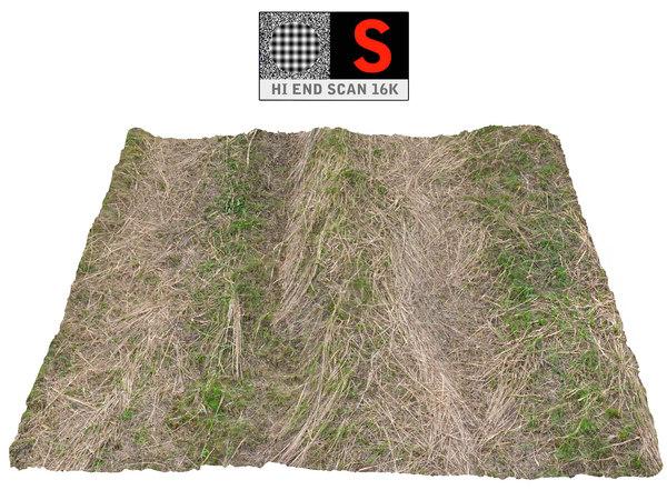 3D model farmland ground 16k hd