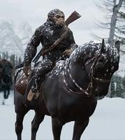 3D caesar horse inspirited