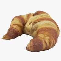 scan croissant 3D model