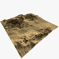 terrain ready scene 3D